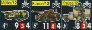 Vae Victis 048 Ardennes 1944 Pions 12 SS-Panzer-Division