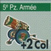 Vae Victis 048 Ardennes 1944 Pions 5 Panzer-Armee Nebelwerfer