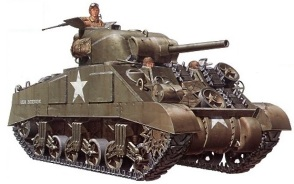 Tamiya 1-35 M4 Medium Tank Sherman visuel