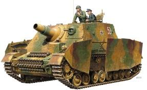 Tamiya 1-35 Sturmpanzer IV Stupa Brummbar schwere Sturmpanzer-Abteilung 216 artbox