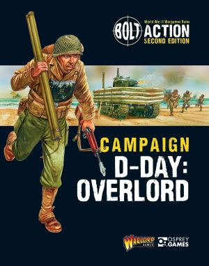 Osprey 2019VELLA Robert Bolt Action Campaign D-Day Overlord
